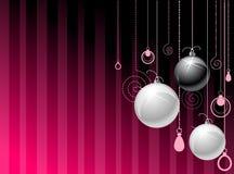 серебр nad шариков черный Стоковые Изображения RF