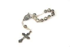 серебр rosary стоковые фото