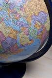 середина глобуса земли восточная Стоковые Фото