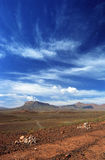 середина ландшафта атласа Стоковые Фото