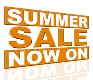 Середины продажи лета в настоящее время и дешево иллюстрация штока