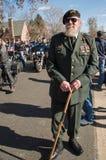 Сержант John Watson разведчика ренджера армии ветерана на ежегодных параде и церемонии дня ` s ветерана Стоковая Фотография