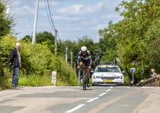 Серж Pauwels - Критерий du Dauphine 2017 велосипедиста стоковая фотография rf