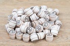 Серии деревянных бочонков Стоковое фото RF