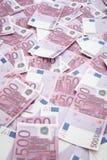 серии евро Стоковая Фотография RF