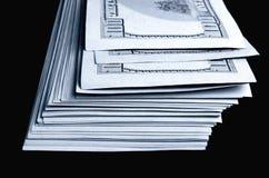 Серии 100 из долларовых банкнот Стоковые Изображения