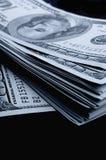 Серии 100 из долларовых банкнот Стоковая Фотография RF