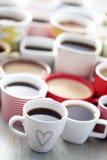 Серии кофе! стоковое изображение rf