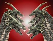 Серии на змейках 2 изверга Стоковые Фотографии RF