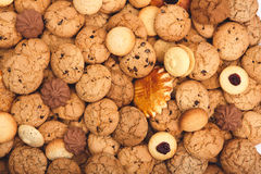 Серии печений и предпосылки печениь Стоковое Изображение RF