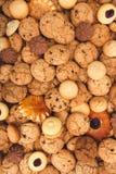 Серии печений и предпосылки печениь Стоковая Фотография RF