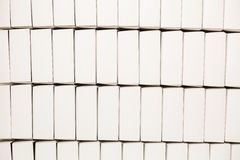 Серии пустых белых коробок Стоковая Фотография RF