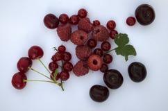 Серии свежих различных ягод Стоковое Изображение RF