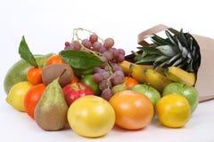 серии свежих фруктов мешка Стоковые Фото