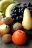 Серии сочного плодоовощ на деревянной поверхности Стоковая Фотография RF