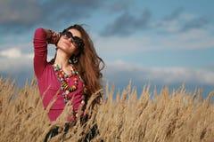 серии ювелирных изделий девушки рукоятки сокращают носить Стоковые Изображения