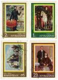 Серия «истории Болгарии. Картины» стоковое фото