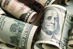 Серия американских долларов Стоковые Фото