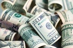 Серия американских долларов Стоковое фото RF