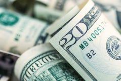 Серия американских долларов Стоковые Изображения RF