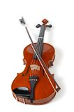 серия белизны скрипки Стоковое фото RF