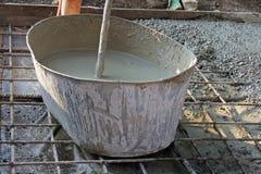 Серия бетона на masonry Стоковая Фотография RF