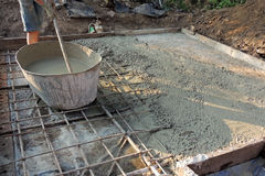Серия бетона на masonry Стоковые Изображения
