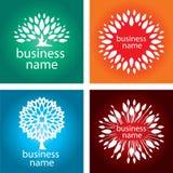 Логос биологии Стоковые Изображения