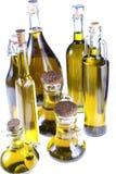 Серия бутылок оливкового масла Стоковые Фотографии RF
