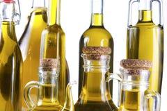 Серия бутылок оливкового масла Стоковая Фотография RF