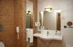серия ванной комнаты Стоковое фото RF