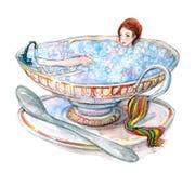 серия ванны b Стоковое Фото
