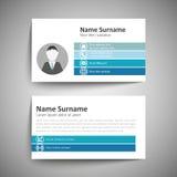 серия визитной карточки финансовохозяйственная Стоковое фото RF