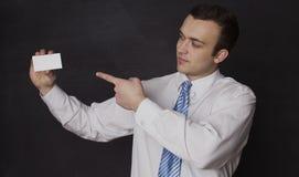 серия визитной карточки финансовохозяйственная Стоковая Фотография