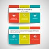 серия визитной карточки финансовохозяйственная Стоковые Изображения
