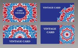 серия визитной карточки финансовохозяйственная Иллюстрация штока