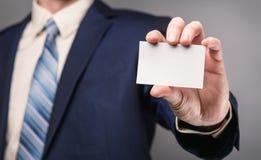 серия визитной карточки финансовохозяйственная Стоковое Изображение RF