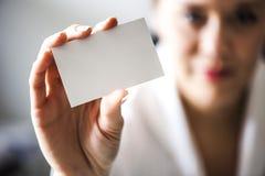 серия визитной карточки финансовохозяйственная Стоковые Фотографии RF