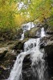 Серия водопада горы Стоковые Изображения RF