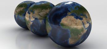 серия глобуса стоковые фотографии rf