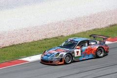 серия гонки автомобиля действия малайзийская супер Стоковые Изображения RF