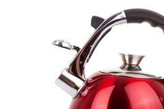 Серия изображений изделий кухни. Чайник Стоковое Изображение RF