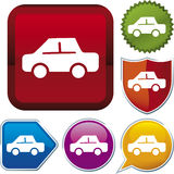 серия иконы автомобиля Стоковая Фотография RF
