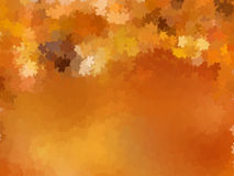 Серия листьев осени клена на том основании. EPS 10 Стоковое Изображение RF