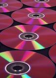 серия компактного диска предпосылки Стоковое фото RF