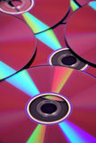 серия компактного диска предпосылки Стоковые Изображения RF