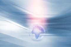 Серия 138 концепции предпосылки соединений глобального бизнеса Стоковая Фотография