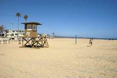 Серия космоса на пляже Ньюпорта, округ Орандж - Калифорнии Стоковое Фото