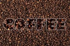 серия кофе фасолей Стоковое Изображение