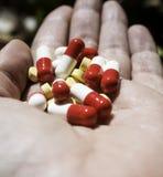 Серия медицинских пилюлек Стоковые Изображения RF